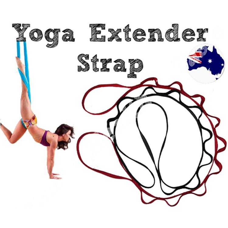 MOONRING Yoga H/ängematte Verl/ängerungsgurt Daisy Chain Fitness Schaukel H/ängende G/ürtel Aufh/ängungssystem Zubeh/ör